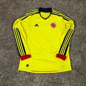 Columbia Adidas Long Sleeve Soccer Jersey